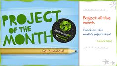 Project of the Month - Check out this month's project idea! This is a great website for service projects!