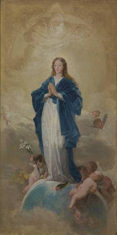 Goya en El Prado | Francisco de Goya y Lucientes | La Inmaculada Concepción, 1784, óleo sobre lienzo. Adquirido por el Estado a su propietaria, con destino al Museo del Prado, en noviembre de 1891.