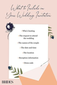 Discover exactly what needs to be included on your ceremony invite in the ultimate guide to wedding invitation wording etiquette, complete with 21 examples. Wedding Invitation Wording Examples, Wedding Invitations, Wedding Wording, Invitation Ideas, Invites, Formal Wedding, Wedding Events, Weddings, Make Your Own Invitations