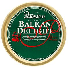 My Favorite Blend: Tinned Pipe Tobacco: Peterson Balkan Delight 50g at Smokingpipes.com