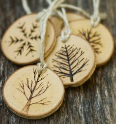 Wooden Christmas Tree Ornament Patterns
