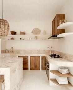 Kitchen Interior, Kitchen Design, Kitchen Decor, Interior Desing, Interior Decorating, Mediterranean Kitchen, Menorca, Minimalist Home, Home Kitchens