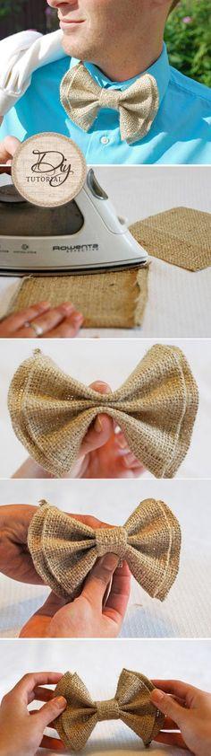 DIY Tutorial: New Sew Bow Ties!