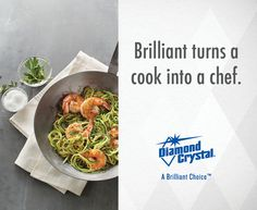 Diamond Crystal® Kosher Salt can help add an extra burst of flavor to any meal. It's even endorsed by the American Culinary Federation! #DiamondCrystalSalt