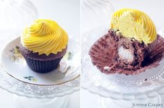 It's the time of year when everyone indulges in a CadburyCreme Egg or twelve and what better way to enjoy a few than in a freshly baked cupcake! We had a few requests to share our recipe so we thought we'd divulge. This is a pretty simple a