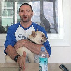 Hugh Jackman's puppy love on Instagram