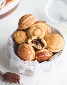 Aebleskiver Danish Pancakes – Immaculate Bites