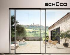 Scorrevoli in alluminio panoramici Schüco