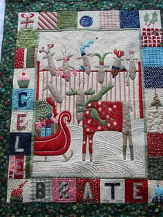 Cute Christmas Quilt