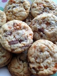 Butterfingers + Cookie = perfection!