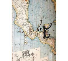 Map Wall Decal #potterybarn