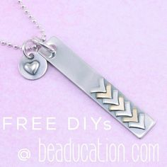 Put your soldering skills to use and check out this DIY @ Beaducation.com! Search for Chevrons to the Top @ Beaducation.com