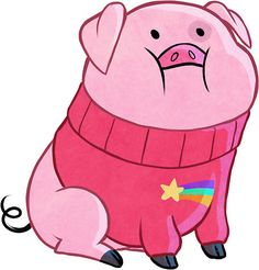 Gravity Falls Pig - others Gravity Falls Waddles, Gravity Falls Funny, Gravity Falls Art, Pig Wallpaper, Fall Wallpaper, Cute Wallpaper Backgrounds, Funny Wallpapers, Cartoon Wallpaper, New Game Characters