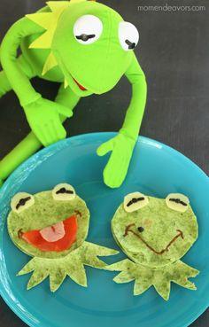 Muppets Fun Food - Kermit & Constantine Quesadillas!