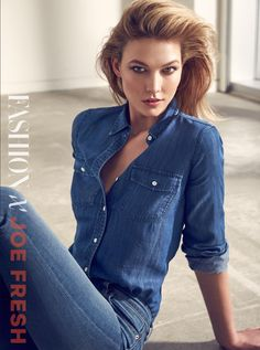 Karlie Kloss lands the September 2016 cover of Canada's FASHION Magazine. Photographed by Max Abadian, Karlie wears a button-up shirt and charming smile on the front. Inside the magazine, the top model poses in looks from Joe Fresh—a label which Karlie has served as ambassador for several seasons now. Stylist Zeina Esmail selects a mix …