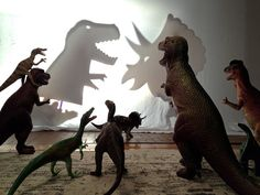A month-long imagination invasion. Great creative idea to do with kids. Follow along with Dinovember 2013 via Facebook. By: Refe Tuma (Family & Dinosaur Figures)