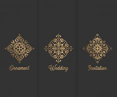 Cartão de visita Elementos decorativos vintage Hand drawn background Vetor grátis