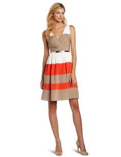 Eliza J Women's Belted Colorblock Dress, Eliza J,http://www.amazon.com/dp/B007D7DM80/ref=cm_sw_r_pi_dp_Ex0jsb0N20D22930
