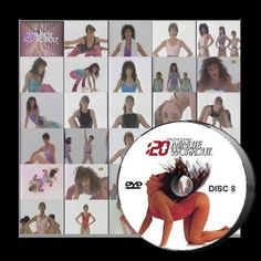 20 Minute Workout TV Collection 8 DVD Bess Motta - Aerobic - Fitness - Exercise