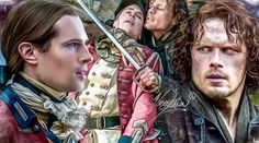 More fab artwork! Outlander Fan Art, Outlander Season 4, Outlander Book Series, Scott Campbell, Jamie Fraser, Top 100 Films, Diana Gabaldon Books, Fantasy Posters, Lord John