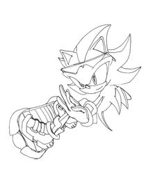 sonic riders coloring pages Sonic