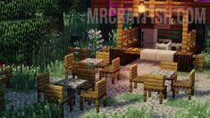 Adds over 80 unique Furniture to Minecaft Minecraft Dogs, Minecraft Garden, Minecraft House Plans, Minecraft Blueprints, Minecraft Projects, Minecraft Furniture, Minecraft Mobile, Minecraft Architecture, Minecraft Buildings
