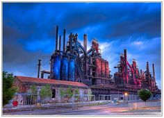 Steel Stacks... Bethlehem PA  They've really done something great with this place!