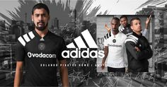 Camisas do Orlando Pirates 2017-2018 Adidas