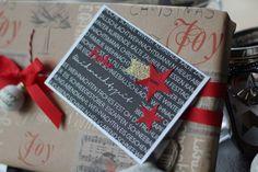 Weihnachtskarte Renke Papier