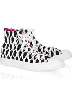 90322c31fbf0c0 CONVERSE Marimekko printed canvas high-top sneakers  80 Outfits With  Converse