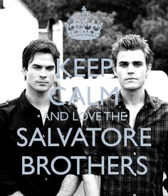 The things I would do to have the Salvatore brothers pining over me. Hot damn