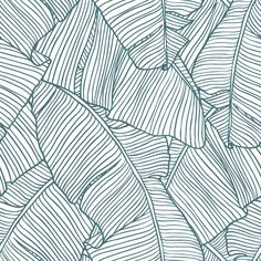 The Palms in White | Removable Wallpaper| WallsNeedLove