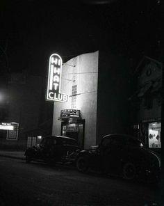 1947 the hi hat club on Rush st.