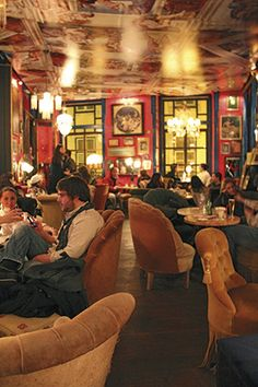 The Art of the New Lisbon - via SilverKris - The Travel Magazine of Singapore Airlines 24.02.2015 | The Portuguese capital fuses a captivating mix of passion and creativity that's sparking its regeneration. Photo: Drinking in the atmosphere at Pensao Amor