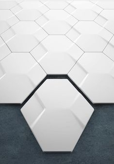 Hexagons with relief