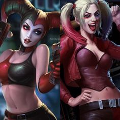 "1,606 Likes, 8 Comments - Harley Quinn (@harleyquinn.ig) on Instagram: ""New images of Harley Quinn for the #Injustice2 mobile app! - #harleyquinn #harleenquinzel…"""