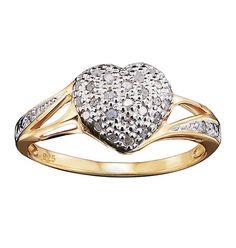 Fine Designer Collection Heart Cluster Ring. Shop online at tashina.avonrepresentative.com