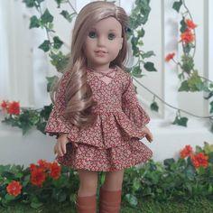 American Girl Rebecca WINTER COAT retired muff  /& matching coat F971
