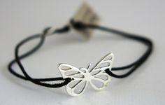 Bracelet Argent 925 Papillon