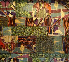 Amazon Ollitecture upcycled bamboo wall panels board graphics patterns made from Rayne Longboards.