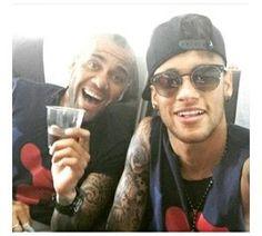 Neymar an dani alves