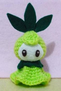 Crochet Petilil from Pokemon Amigurumi- Want make, will find pattern