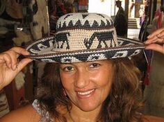 Hellgrauer #peruanischer #leichter #Hut für den #Sommer    ein wunderschoenes Accessoire fuer die Sommer und Herbsttage.