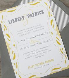 wedding invitation paper-goods