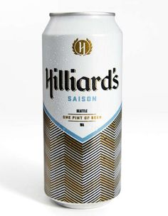 The Hilliard's Beer Can by Mint Agency is Refreshing #beer trendhunter.com