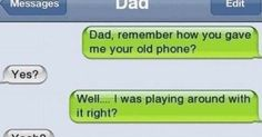 22 Of The Most Hilarious Texts From Dads. LMAO!