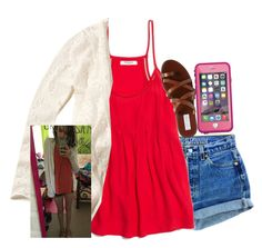 sorta ootd by elizabethannee on Polyvore featuring Madewell, Levi's, Steve Madden and Hollister Co.