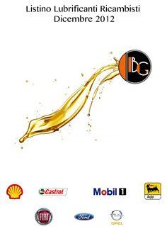 Listino lubrificanti - 2012