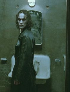 Brandon Lee in The Crow film
