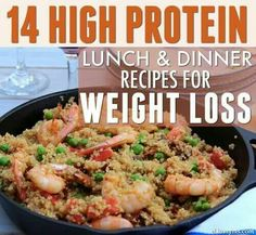 14 High Protein Meals Lunch/Dinner Recipes